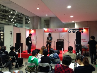 楽器フェア2014コモレッド1.JPGのサムネイル画像