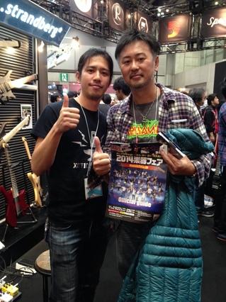 楽器フェア2014亮さん.JPGのサムネイル画像