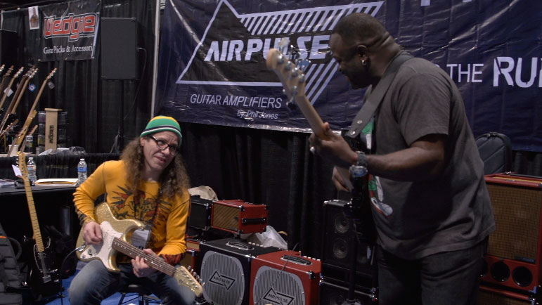 NAMM2013_chrisLarry.jpg